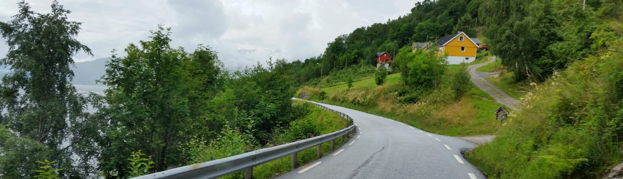 Norwegia – droga krajowa nr 13
