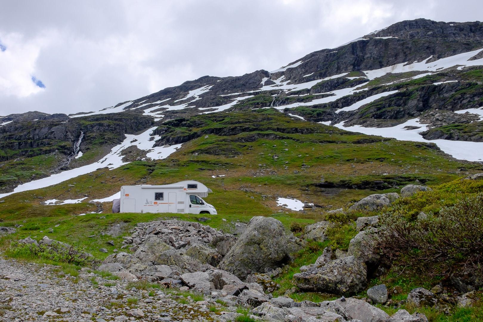 DSCF2426 Kamper czyli jak rodziła się nasza fascynacja Lato 2016 Norwegia